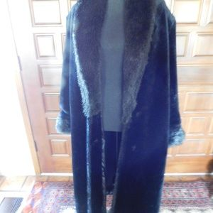 Monterey Fashion Long Black Faux Fur!